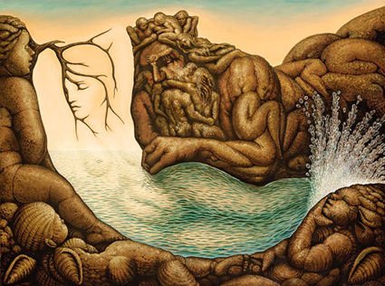 absents of mermaid optical illusion from Austin Psychologists PsychARTS