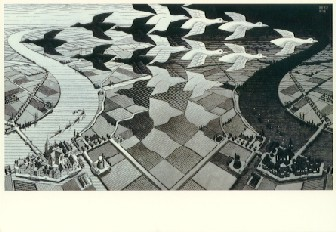 escher image optical illusion from Austin Psychologists PsychARTS